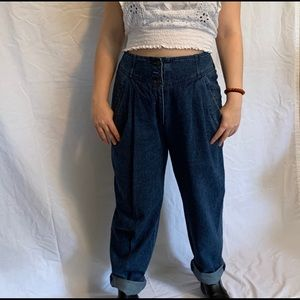 Vintage High Waisted Jeans | 4